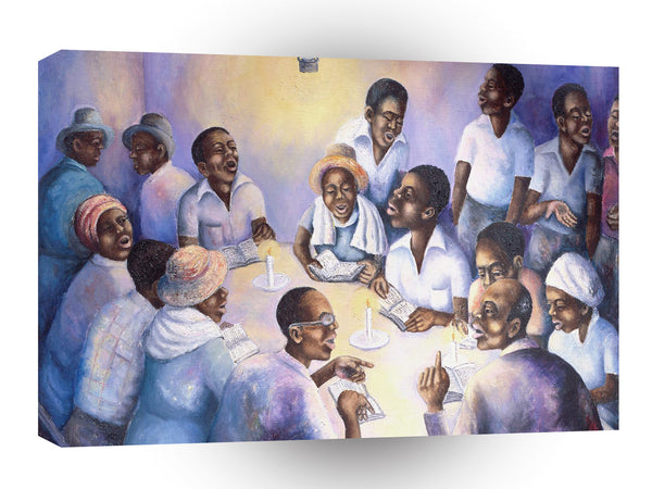 Fine Art Church Members A1 Xlarge Canvas