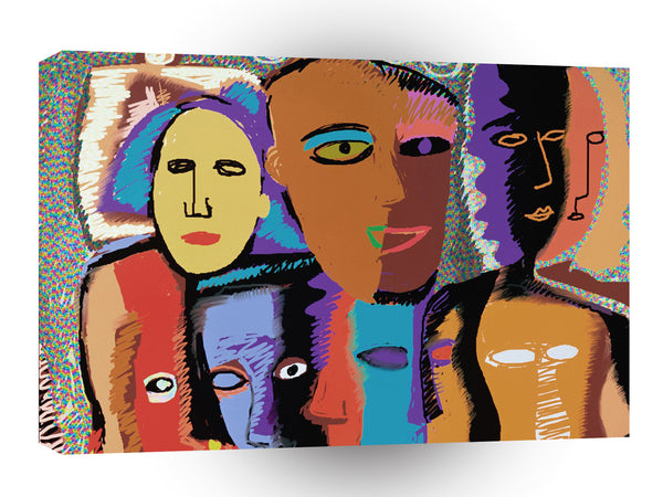 Fine Art Get Together A1 Xlarge Canvas
