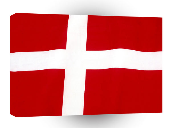 Flag Denmark A1 Xlarge Canvas