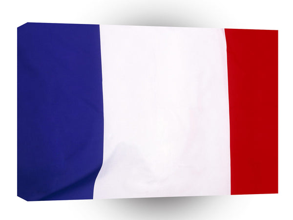 Flag France A1 Xlarge Canvas
