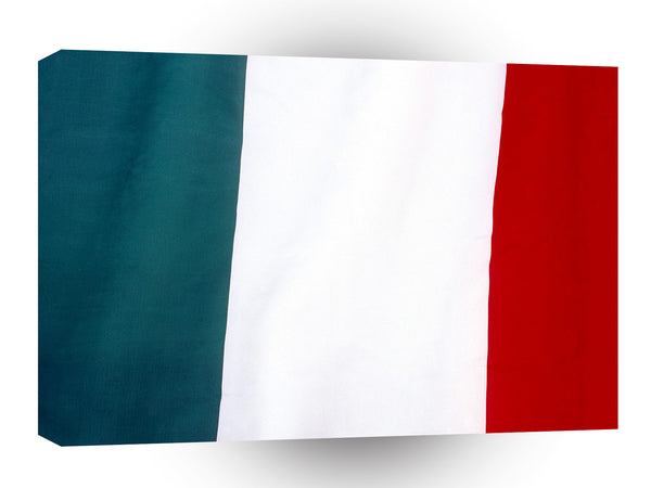 Flag Italy A1 Xlarge Canvas