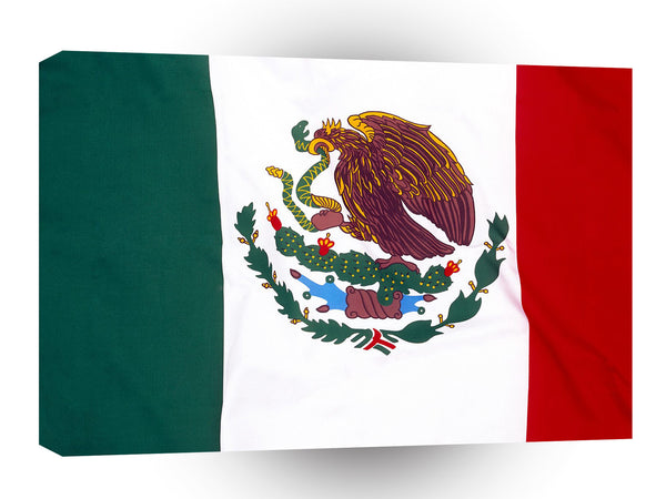 Flag Mexico A1 Xlarge Canvas