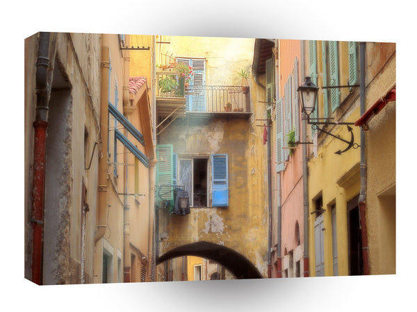France A Ray Of Light Villefranche A1 Xlarge Canvas
