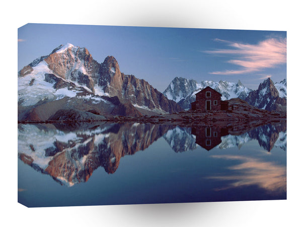 France Alps A1 Xlarge Canvas