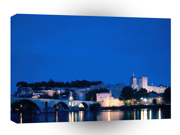 France Bridge River Rhone Avignon Vaucluse A1 Xlarge Canvas