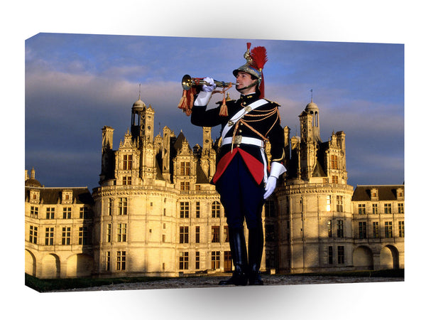 France Chateau De Chambord A1 Xlarge Canvas