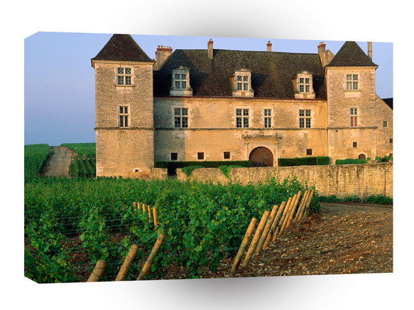 France Clos De Vougeot Vineyard Vougeot A1 Xlarge Canvas