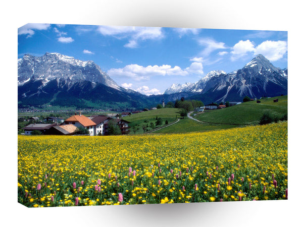France Countryside Splendor A1 Xlarge Canvas