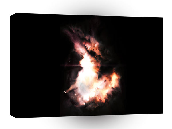 Galaxies Abstract Sci Fi Riven A1 Xlarge Canvas