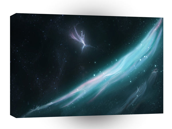 Galaxies Abstract Sci Fi Start Dust A1 Xlarge Canvas
