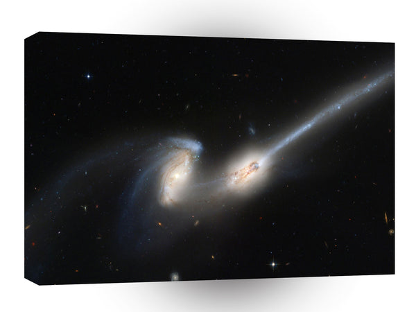 Galaxy Irregular Forming Clouds A1 Xlarge Canvas