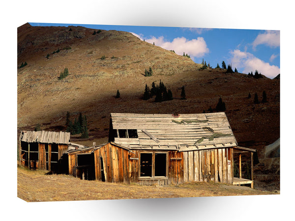 Ghost Towns Animas Fork Near Silverton Colorado A1 Xlarge Canvas