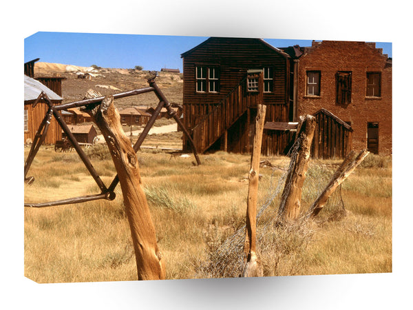 Ghost Towns Bodie Ghost Town Bodie California A1 Xlarge Canvas