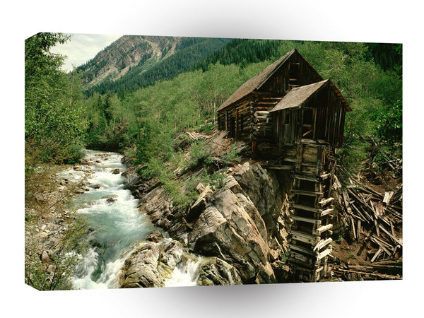 Ghost Towns Lost Horse Mill Crystal Colorado A1 Xlarge Canvas
