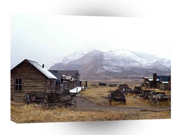 Ghost Towns Old Trail Town Museum Cody Wyoming A1 Xlarge Canvas