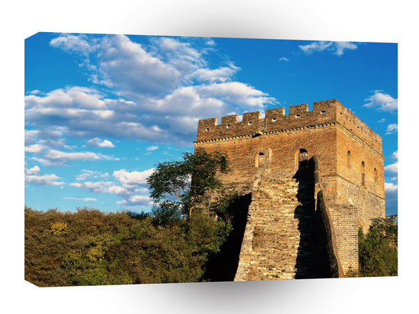 Great Wall Castle Tower Daytime A1 Xlarge Canvas