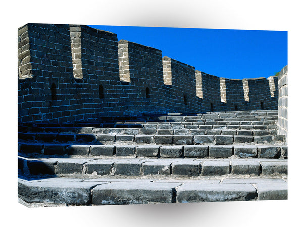 Great Wall Close Up Blue Sky A1 Xlarge Canvas