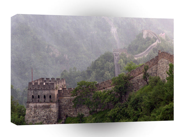 Great Wall Misty Mountain Times A1 Xlarge Canvas