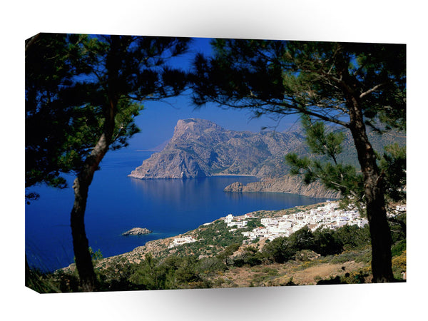 Greece Mesohori Karpathos Dodecanese Islands A1 Xlarge Canvas