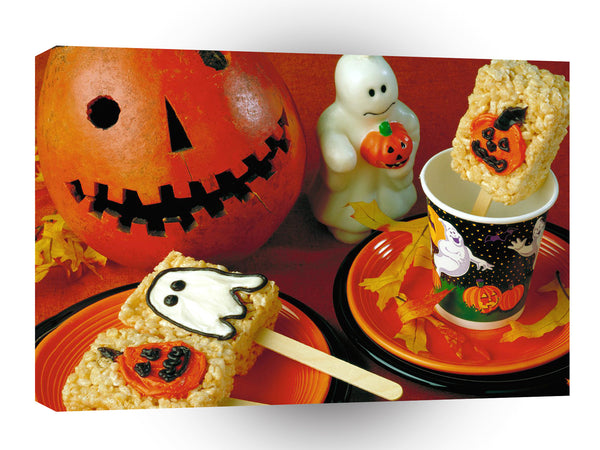 Halloween Halloween Treats A1 Xlarge Canvas