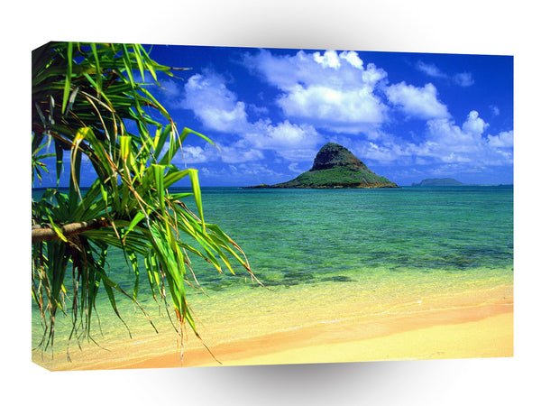 Hawaii Chinamans Hat Oahu A1 Xlarge Canvas