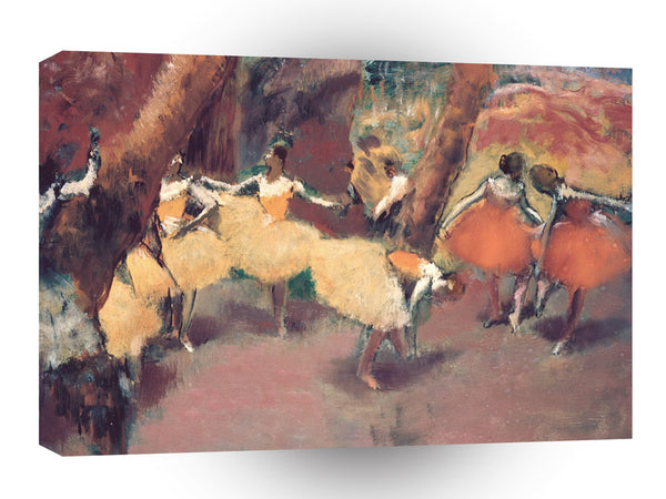 Impressionism Dega Before Performance A1 Xlarge Canvas