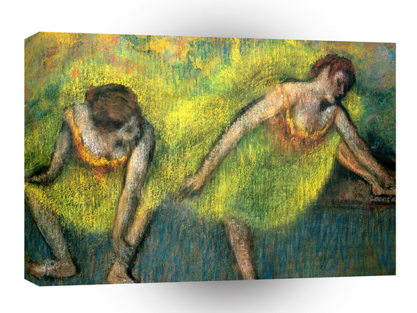 Impressionism Degas Two Dancers Rest A1 Xlarge Canvas