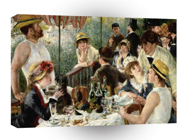 Impressionism Renoir Uncheon Boating Party 1881 A1 Xlarge Canvas
