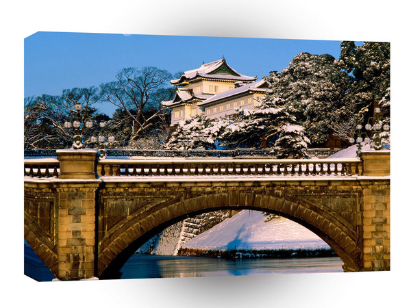 Japan Imperial Palace Tokyo A1 Xlarge Canvas