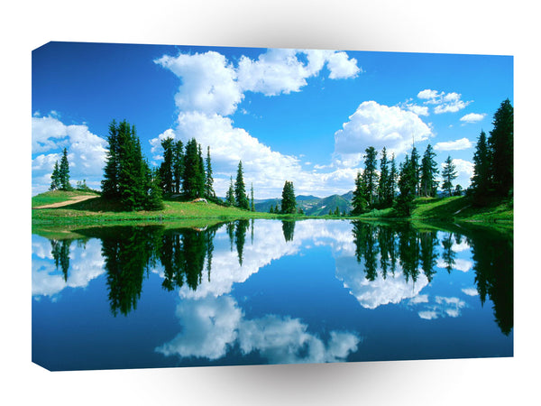 Lake Alpine Gunnison Forest Colorado A1 Xlarge Canvas
