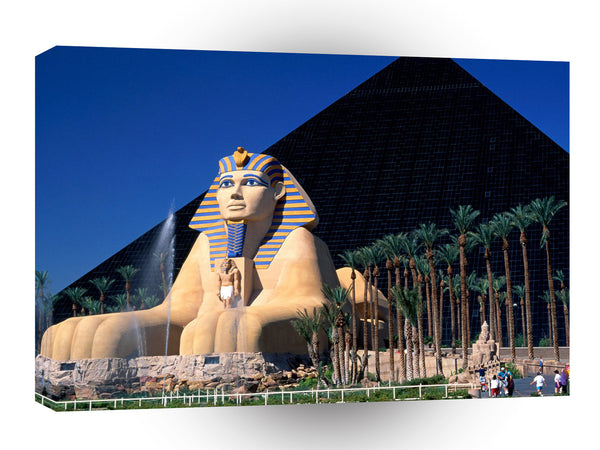 Las Vegas Luxor Hotel And Casino Las Vegas Nevada A1 Xlarge Canvas