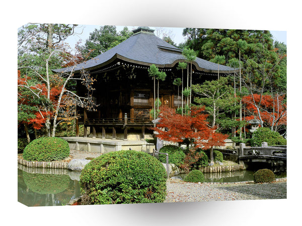 Las Vegas Seiryoji Temple Kyoto Japan A1 Xlarge Canvas