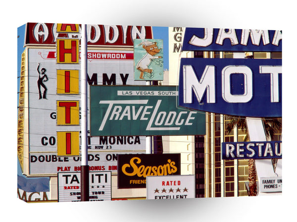 Las Vegas So Many To Choose From Las Vegas Nevada A1 Xlarge Canvas
