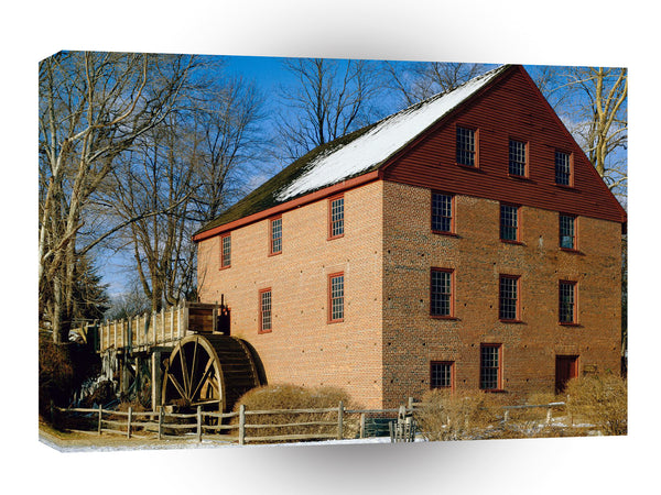 Mills Colvin Run Mill Virginia A1 Xlarge Canvas