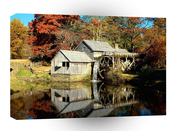 Mills Mabry Mill Blue Ridge Parkway Virginia A1 Xlarge Canvas