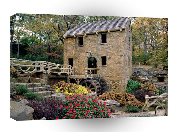 Mills Nice Old Mill North Little Rock Arkansas A1 Xlarge Canvas