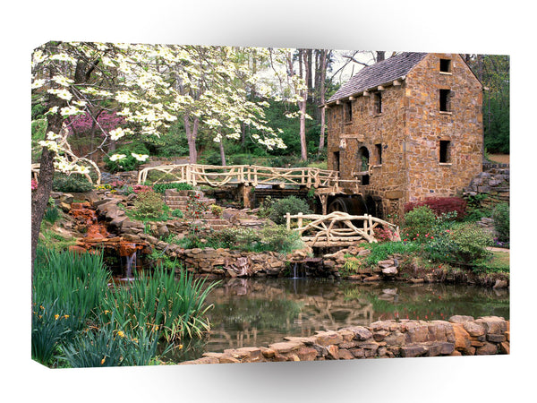 Mills Old Mill View North Little Rock Arkansas A1 Xlarge Canvas