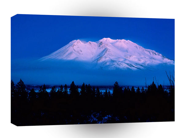 Mountain Above The Clouds Mt Shasta California A1 Xlarge Canvas