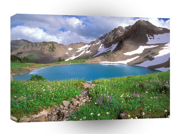 Mountain Alpine Tranquility Olympic Park A1 Xlarge Canvas
