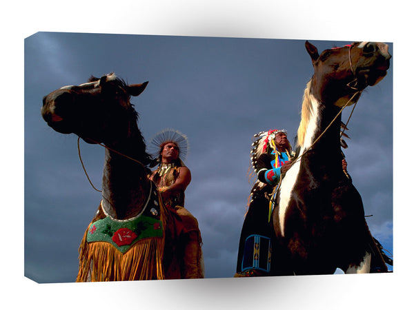 Native Americans Leadership A1 Xlarge Canvas