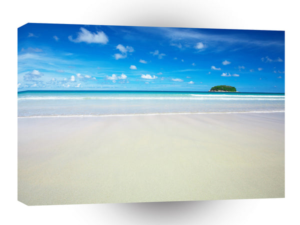 Nature Beach Tropical White Sands A1 Xlarge Canvas