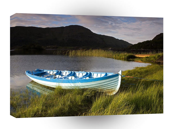 Nature Lakeside Fishermans Moore A1 Xlarge Canvas