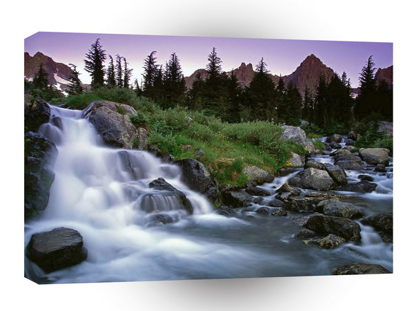 Nature River Rocky Rapids A1 Xlarge Canvas