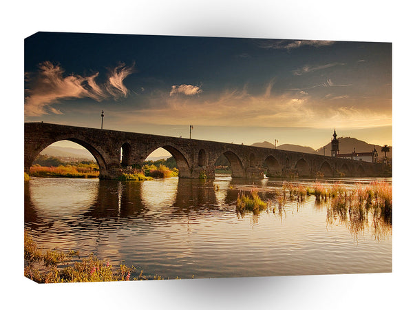 Nature River Stoney Bridge A1 Xlarge Canvas