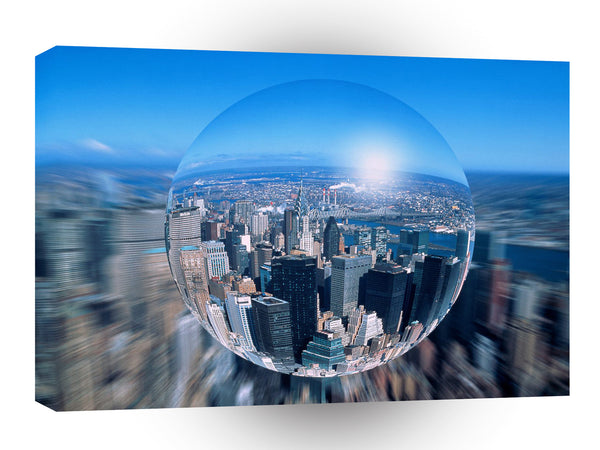 New York Getting Focused A1 Xlarge Canvas