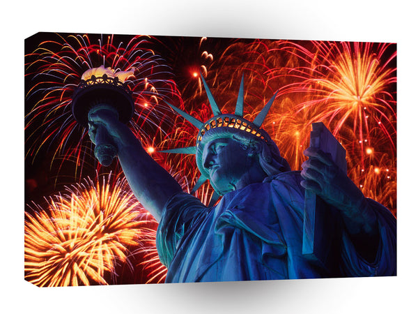 Patriotic America The Beautiful A1 Xlarge Canvas