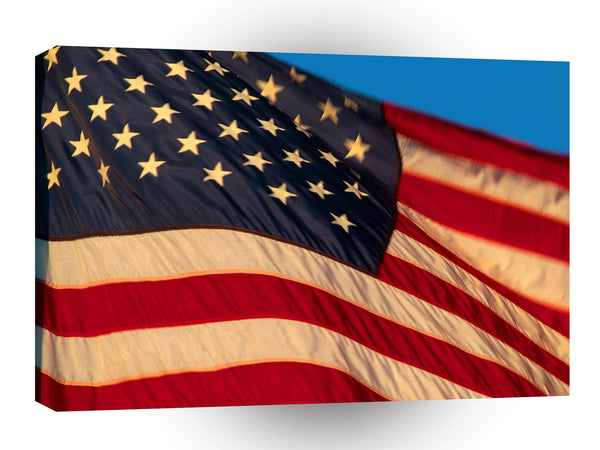 Patriotic Grand Ole Flag A1 Xlarge Canvas