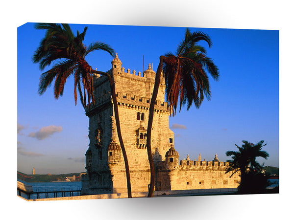 Portugal Belem Tower A1 Xlarge Canvas