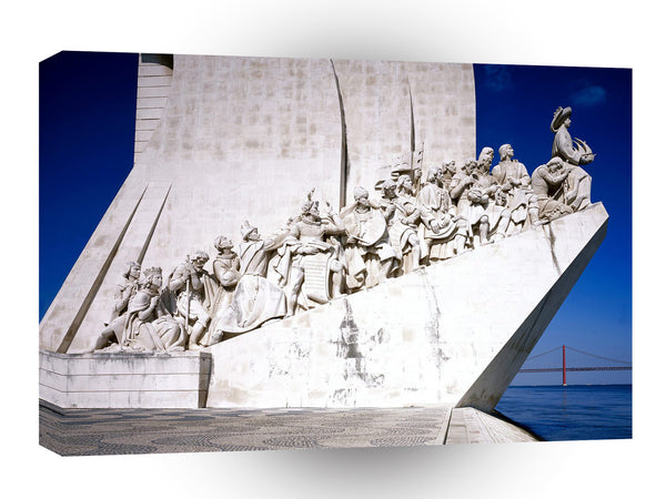 Portugal Monument To The Discoveries Lisbon A1 Xlarge Canvas