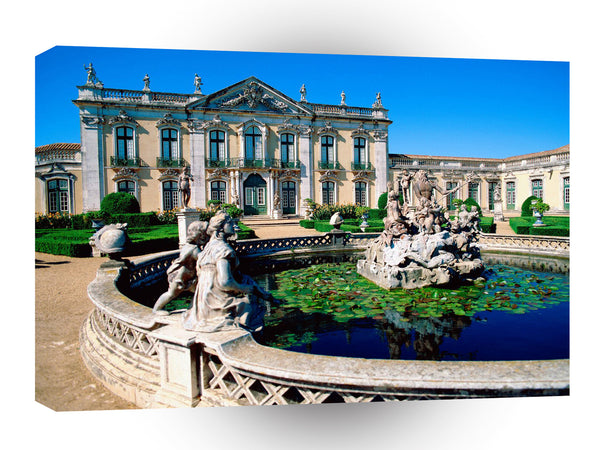 Portugal Queluz National Palace A1 Xlarge Canvas
